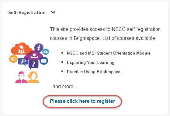 self-registration widget